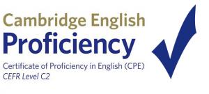 Certificado de ingles C2 o CPE