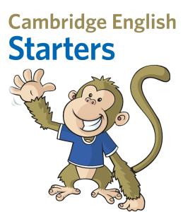 Certificado Starters o Pre-A1 de ingles para niños